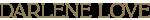 Welcome to Darlene Love Logo
